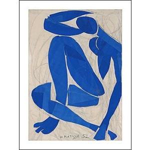 -アートポスター- ブルーヌードIV (60cm×80cm) アンリ・マティス -おしゃれインテリアに-|poster