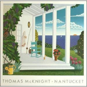 -マックナイト アートポスター-マダケット(ナンタケット島)(457×457mm) -おしゃれインテリアに- poster