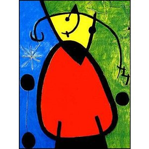 -ミロ アートポスター-夜明け(60cm×80cm) ジョアン・ミロ -おしゃれインテリアに-|poster