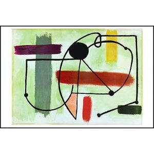 -ミロ アートポスター-女性の胴体(610×915mm) ジョアン・ミロ -おしゃれインテリアに-|poster