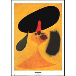 -ミロ アートポスター-少女の肖像(546×762mm) ジョアン・ミロ -おしゃれインテリアに-|poster