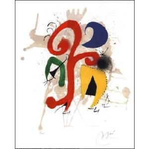-ミロ アートポスター- 抽象 (40cm×50cm) -おしゃれインテリアに-|poster