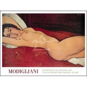 【アートポスター】横たわる裸婦(756×1016mm) モディリアーニ|poster