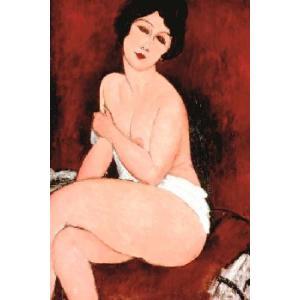 【アートポスター】美女(610×915mm) モディリアーニ|poster