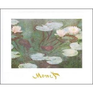 【アートポスター】 睡蓮 (50cm×70cm) クロード・モネ|poster