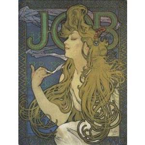 【アートポスター】JOB 1897年(281x358mm) ミュシャ|poster