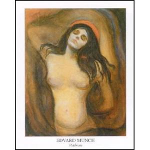 -アートポスター- マドンナ (60cm×80cm) エドヴァルド・ムンク -おしゃれインテリアに-|poster