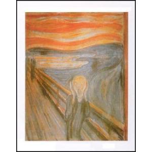 -アートポスター- 叫び (40cm×50cm) エドヴァルド・ムンク -おしゃれインテリアに-|poster