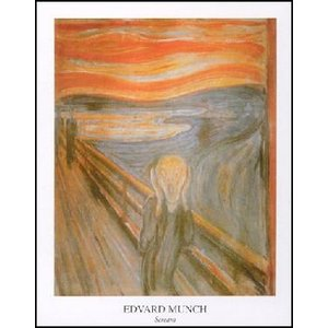 -アートポスター- 叫び (60cm×80cm) エドヴァルド・ムンク -おしゃれインテリアに-|poster