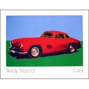 -ウォーホル アートポスター- メルセデス300SLクーペ 1954年 (700×900mm) -おしゃれインテリアに- poster