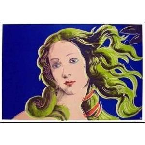 -ウォーホル アートポスター- ヴィーナスの誕生(紫) (590×855mm) -おしゃれインテリアに- poster
