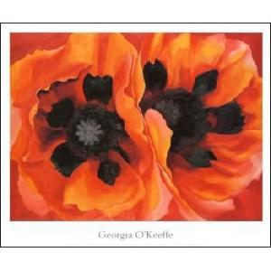 【アートポスター】Oriental Poppies(635×762mm) オキーフ|poster