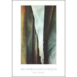 -アートポスター-A Street(635×915mm) オキーフ -おしゃれインテリアに- poster