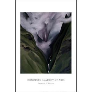 -アートポスター-Waterfall No. III 'Iao Valley(610×915mm) オキーフ -おしゃれインテリアに- poster