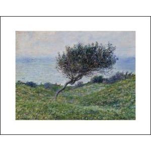 -モネ アートポスター-トゥルーヴィユの海岸(281×358mm) -おしゃれインテリアに-|poster