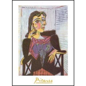 【アートポスター】ドラ・マールの肖像 (24cm×30cm) パブロ・ピカソ|poster