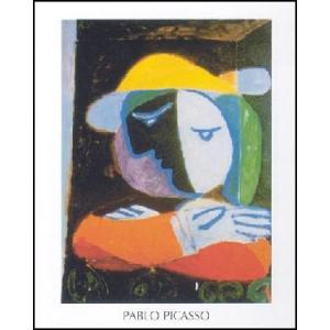 -アートポスター- バルコニーの女 60cm×80cm パブロ・ピカソ -おしゃれインテリアに-|poster