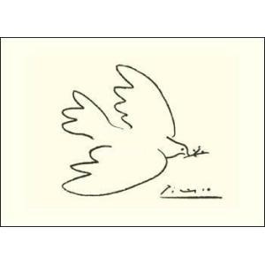 【ピカソ ポスター】平和の鳩(50cm×70cm)|poster