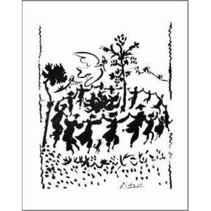 【アートポスター】平和万歳(560×710mm) ピカソ|poster