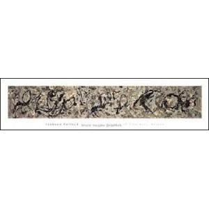 【ポロック ポスター】Number 10,1949(254x1016mm)|poster