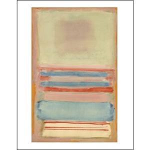 -マーク・ロスコ アートポスター-NO. 7 [OR] NO. 11, 1949(281×358mm) インテリア 絵画 -おしゃれインテリアに-|poster