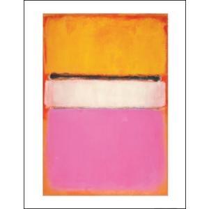 -マーク・ロスコ アートポスター-WHITE CENTER (YELLOW, PINK AND LAVENDER ON ROSE), 1950(281×358mm) インテリア 絵画 -おしゃれインテリアに-|poster