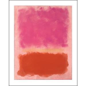 -マーク・ロスコ アートポスター-UNTITLED, 1958(281×358mm) インテリア 絵画 -おしゃれインテリアに-|poster