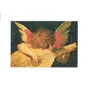【アートポスター】 音楽を奏でる天使 (50×70cm) 天使・ルネッサンス|poster