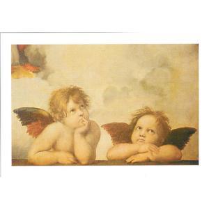 【アートポスター】 天使たち 24cm×30cm 天使・ルネッサンス|poster