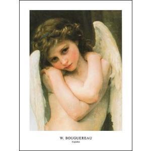 【アートポスター】 キューピット 60cm×80cm 天使・ルネッサンス|poster
