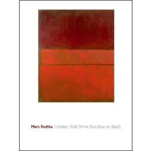 【ロスコ ポスター】Untitled,1959 (600x800mm)|poster