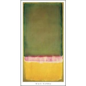 【マーク・ロスコ ポスター】Untitled, 1949 (533×1016mm)|poster