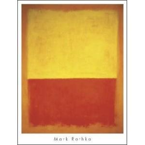 【マーク・ロスコ ポスター】No.12 1954 (711×941mm)|poster
