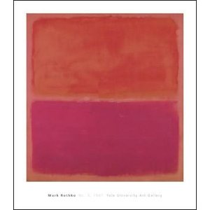 【アートポスター】No. 3,1967(712×815mm) ロスコ|poster