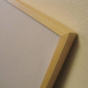 木製ポスターフレーム【SLIM】:縦+横=〜1400mm(色18種類)|poster