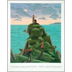 -マックナイト アートポスター-灯台(636×794mm) -おしゃれインテリアに- poster