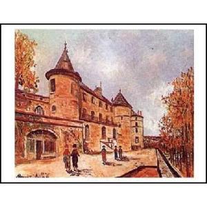 -ユトリロ-シャストロ城(560x710mm) アートポスター -おしゃれインテリアに- poster