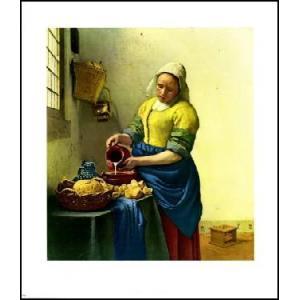 【アートポスター】 ミルクを注ぐ女  508×584mm フェルメール|poster