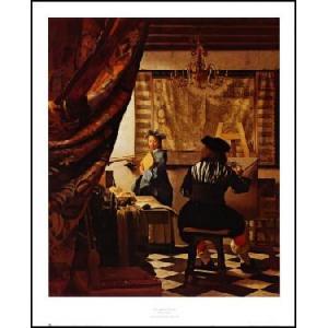 【アートポスター】 絵画芸術  530×650mm フェルメール|poster