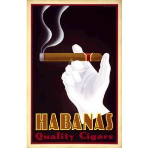 ポスター Habanas Quality Cigars 458×713mm フォーニー|poster