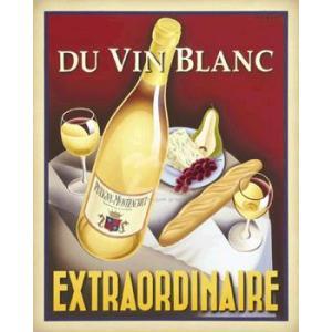 ポスター Du Vin Blanc Extraordinaire 610×760mm フォーニー|poster