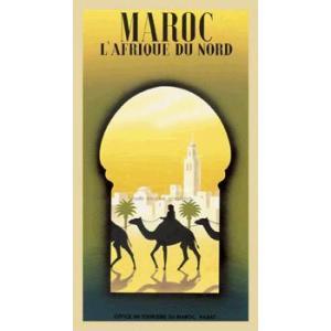 ポスター Maroc L'Afrique du Nord 254×457mm フォーニー|poster