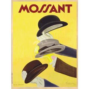 ポスター Mossant 1938 600×800mm ビンテージ|poster