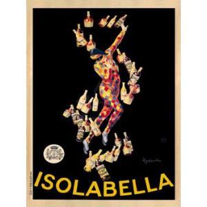 ポスター Isolabella 1910 600×800mm ビンテージ|poster