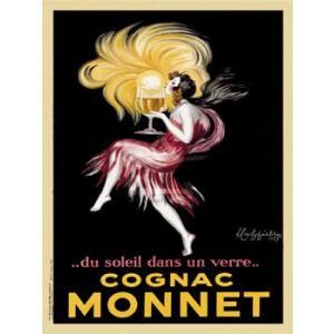 ポスター Cognac Monnet 1927 460×610mm ビンテージ|poster