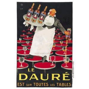 ポスター Le Daure 610×914mm ビンテージ|poster