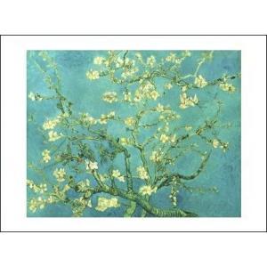 【ゴッホ アートポスター】花咲くアーモンドの小枝(281×358mm)|poster