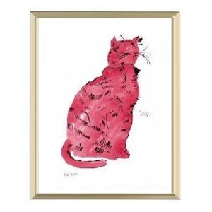 -アンディ・ウォーホル アルミ額装ポスター-ピンク・サム1954年(300×380×7.5mm) -おしゃれインテリアに- poster