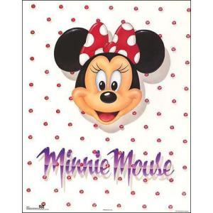 -ディズニー アートポスター-ミニーマウス(406mm×508mm) -おしゃれインテリアに- poster