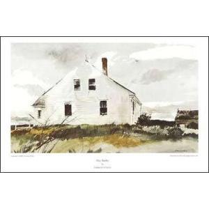 【ワイエス アートポスター】ブラッドフォードの家(585×889mm)|poster